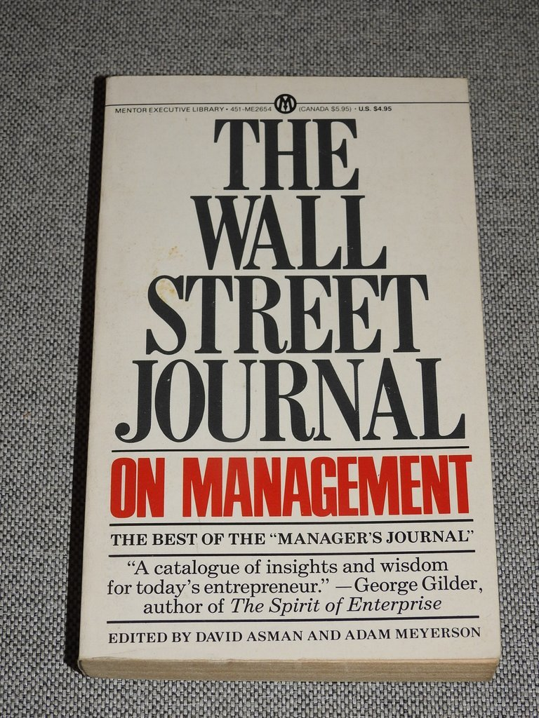 The Wall street Journal on Management